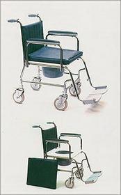WZSO Wózek inwalidzki ręcznie kierowany przez osobę towarzyszącą z urządzeniem sanitarnym typu: 5061