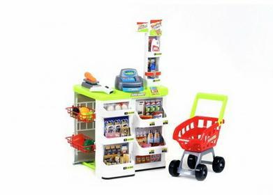 PWToys Sklep Supermarket Wózek, Kasa Sklepowa IW352