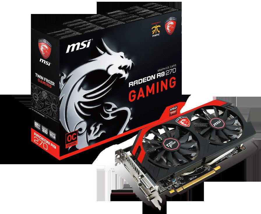 MSI R9 270 GAMING 2G