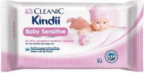 Cleanic Kindii Baby Sensitive chusteczki dla niemowląt 6 Extra Large0 szt