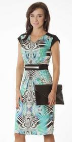 Semper Suknia Andrea dzianina zebra 1165194