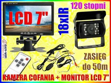 BEZPRZEWODOWA KAMERA COFANIA 18IR +MONITOR LCD 7 Easy