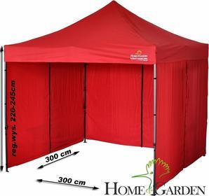 Home&Garden Namiot Handlowy 300 x 300 cm czerwony