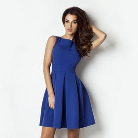 Dawanda Sukienka kontrafałdy 170 - niebieski 77064711