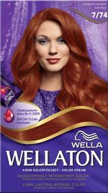 Wella Wellaton Color Cream 7/74 Irlandzka Czerwień