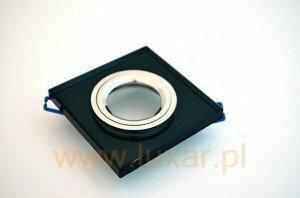 Candellux Oprawa halogenowa szklana SS-13 CH/BK czarna 2231627