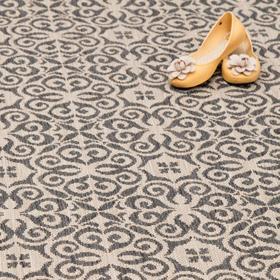 Dekoria Dywan Modern Ethno sand/ antracite 200x290cm, 200x290cm,