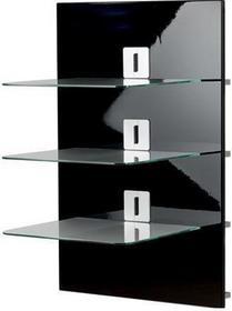 VCM Panel ścienny Xeno-3 - Korpus lakier czarny - szkło