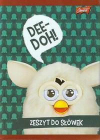 Zeszyt do słówek Furby w kratkę 16 stron-
