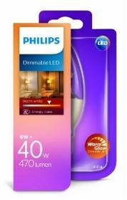 Philips ŻARÓWKA LED ŚWIECZKA 6W E14 230V BARWA CIEPŁA WARM GLOW 929001140430