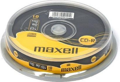 Maxell PŁYTY CD-R Szpula