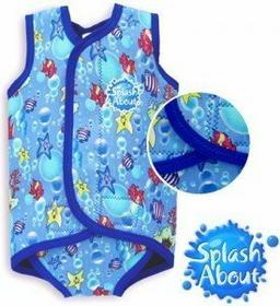 Splash About Neoprenowa pianka do pływania dla dzieci Baby Wrap niebieskie rybki