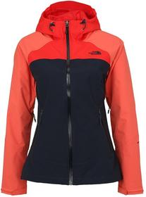 The North Face STRATOS Kurtka hardshell urban navy/spiced coral/high risk red