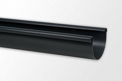 Kaczmarek Rynna PVC 100 x 4000 grafitowa
