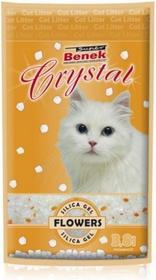 Certech Super Benek Crystal Kwiatowy Żwirek silikonowy 3,8 l