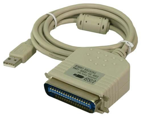 Logilink Adapter USB 2.0 na port Centronics 36-pin, 1,8m