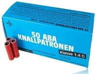 KOLTER Race Aba Knallpatronen - hukowe 50szt klasa 1.4 830900.50
