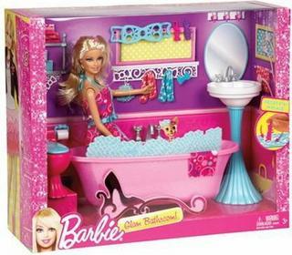 Mattel Barbie i wyposażenie domku mix Y1319