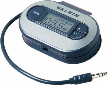 Belkin Transmiter/nadajnik FM TuneCast II jack 3 5 mm zapisuje do 4 częstotliwoś