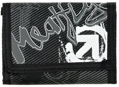 Meatfly portfel męski czarny