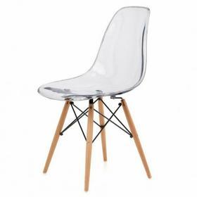 Eames Krzesło inspirowane DSW transparentne XS-016W