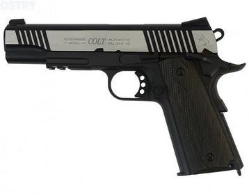 CyberGun Pistolet GBB Colt 1911 Rail - dual tone (180525)