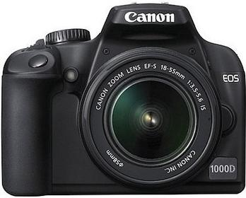 Canon EOS 1000D + 18-55 kit