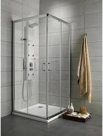 Radaway Premium Plus C/D 80x90 szkło przejrzyste 30437-01-01N