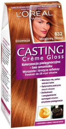 Loreal Casting Creme Gloss 832 Miodowy Blond