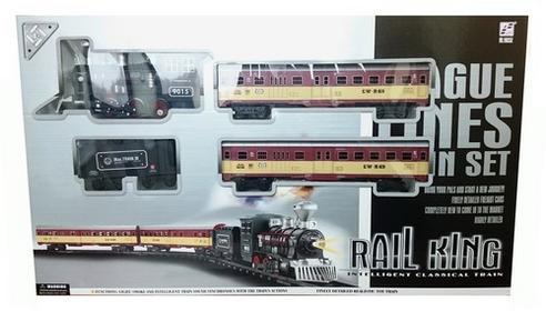 ICOM Kolejka Rail King ze światłem i dymem