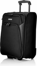 Travelite Walizka kabinowa czarna Portofino IV S 83007-01