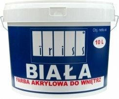 Farba akrylowa Iri wewnętrzna biała 10L IFAW10BI
