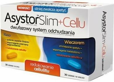 Aflofarm Farmacja Polska Sp. z o Asystor Slim+Cellu 60 tabletek