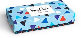 Happy Socks Komplet Figi + Skarpety XTRI62.6000.K jasny niebieski
