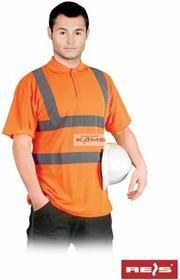 Reis POLO-VIS - koszulka polo ostrzegawcza z krótkimi rękawami 2 kolory - S-