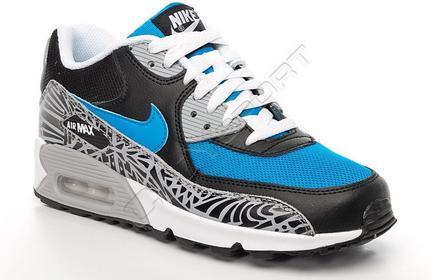 Nike Buty Dziecięce Air Max 90 Prem Mesh (GS) 724882-400