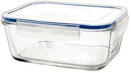 Borgonovo SUPERBLOCK Pojemnik szklany prostokątny 17cm