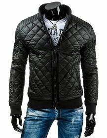 Męska kurtka przejściowa czarna (tx1036)