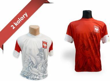 T-shirt Dla Kibica Duży Orzeł Śliski