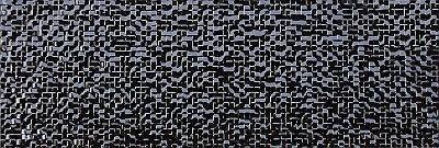 Emigres Mosaic Dekor 20x60 Czarny Negro