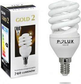 Polux świetlówka energooszczędna GOLD 2 mini 12W E14 SE9641