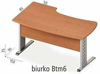 Antrax Biurko narożne Btm6