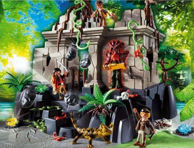 Playmobil 4842 - Świątynia skarbu ze strażnikami