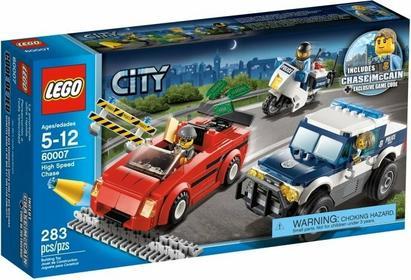 LEGO CITY - Superszybki pościg 60007