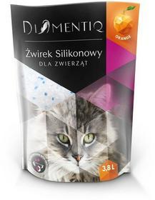 Diamentiq Q Żwirek silikonowy pomarańcza 3,8l