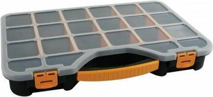 Velleman Organizer - pudełko plastikowe z 18+2 przegródkami duże OMR18