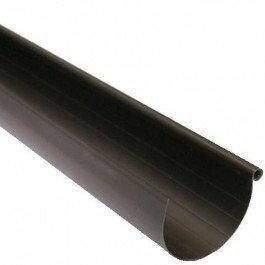 Scala Plastics Rynna ryflowana G80 brązowa 4 m