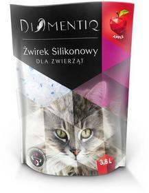 Diamentiq Q Żwirek silikonowy jabłko 3,8l