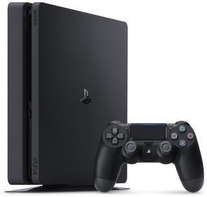 Sony PlayStation 4 Slim 1 TB Czarny + Akcesoria