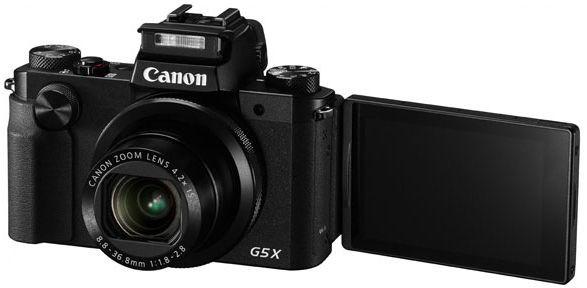Canon PowerShot G5X czarny